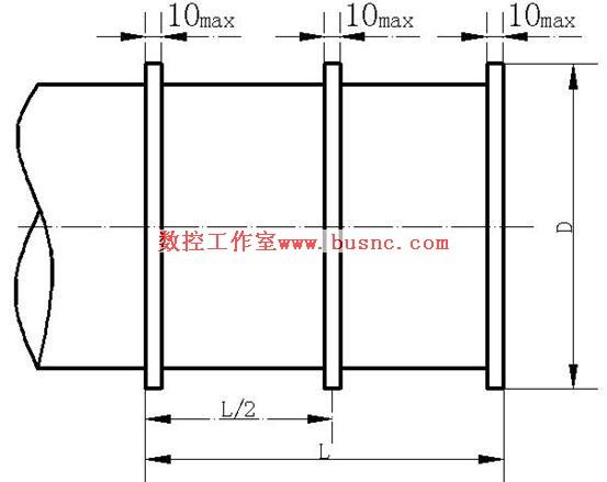最大 车削/2、简图 L=0.5最大车削直径或2/3最大车削行程。