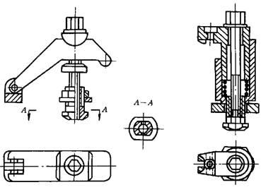 手动可调夹紧压板和液压组合压板结构简介