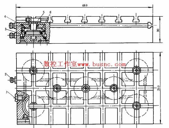 槽系组合夹具——数控机床夹具