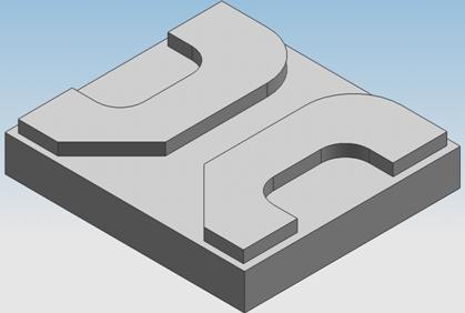 数控铣加工_FANUC数控系统铣镜像加工零件实例(带子程序)